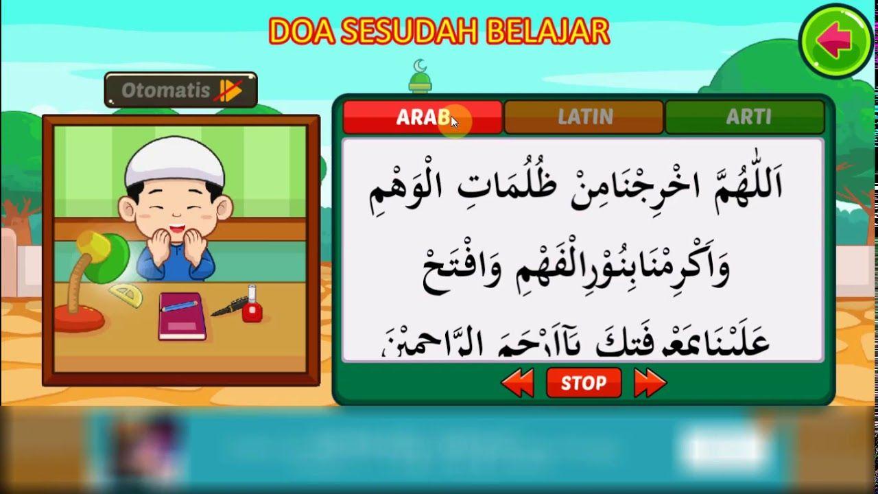 Doa Sebelum Belajar Dan Sesudah Belajar Channel Anak