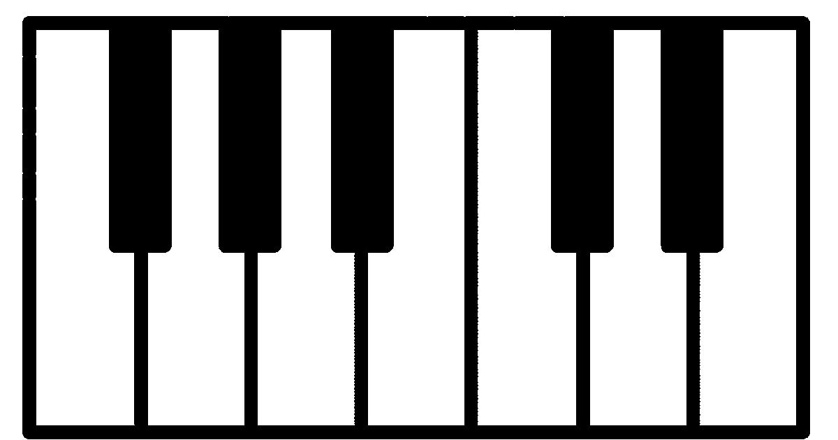 Teaching White Key Names Teaching Musical Wall Art Piano Classes
