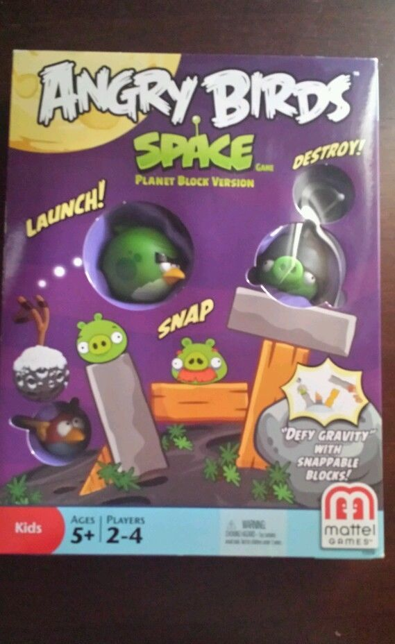 Angry Birds Space Game Planet Block Version