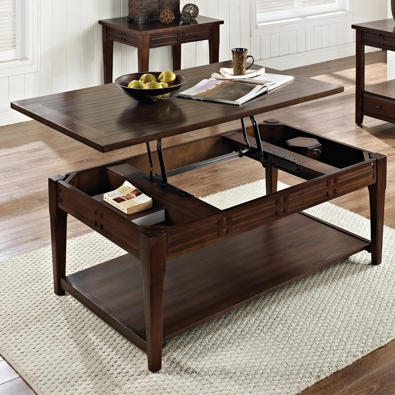 Found It At Www Dcgs Crestline Tail Table Lift Top Distressed Walnut Dcg S 314 No Tax And Shipping Fees