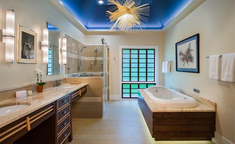 13 superbes salles de bain inspirées du style asiatique   Style ...