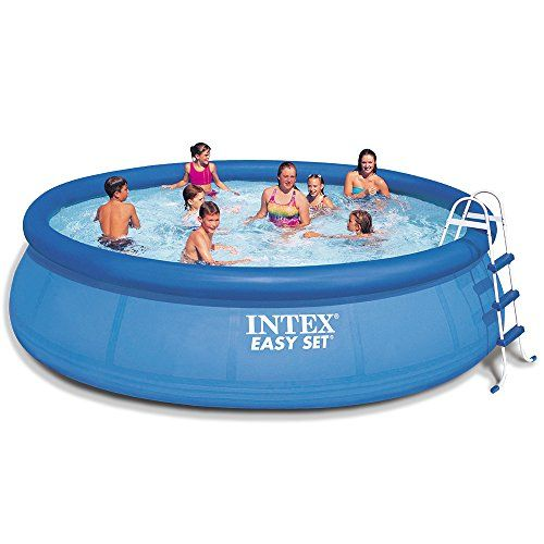 Intex 15ft X 42in Easy Set Pool Set With Filter Pump Ladder
