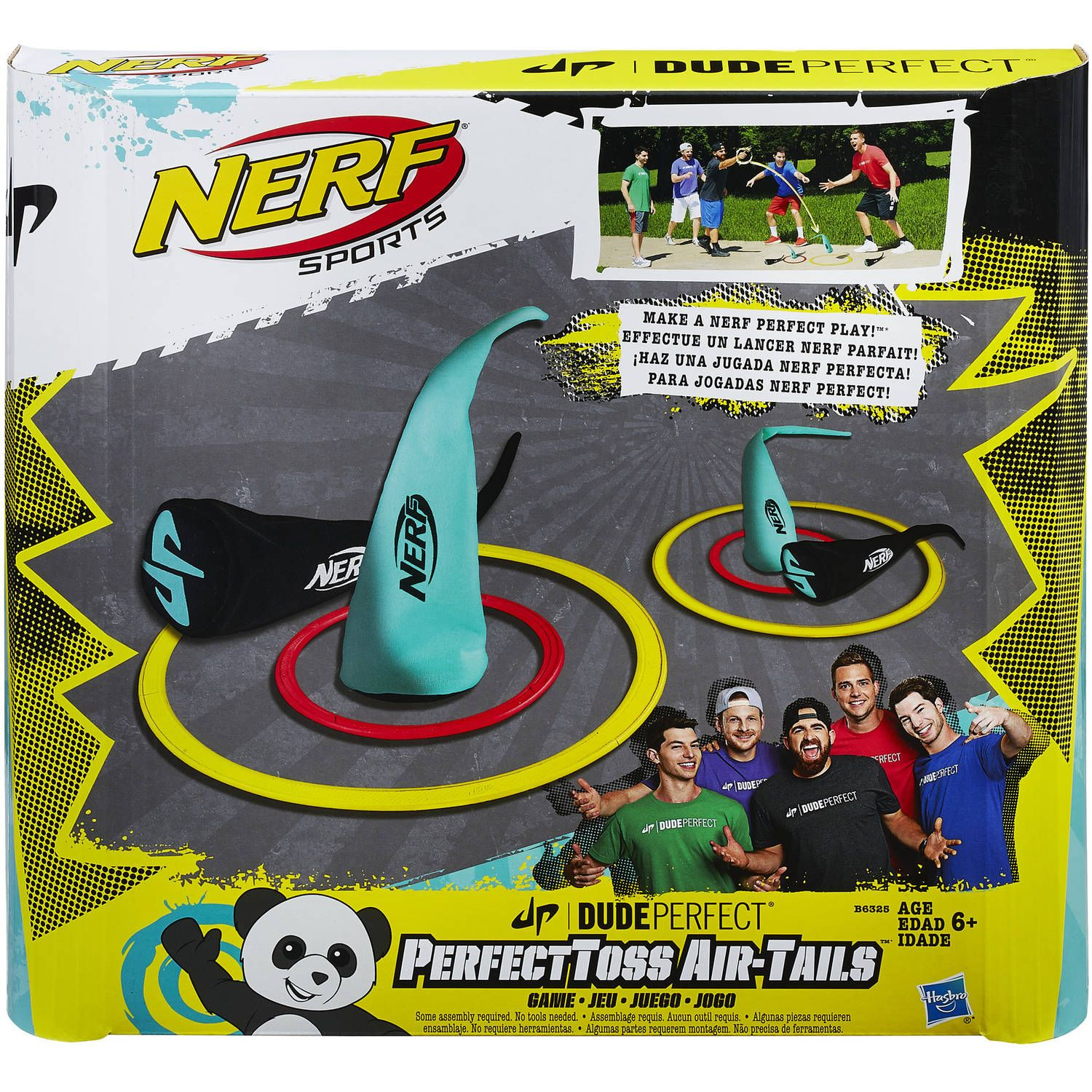 Nerf Sports Dude Perfect PerfectToss Air Tails Game Walmart
