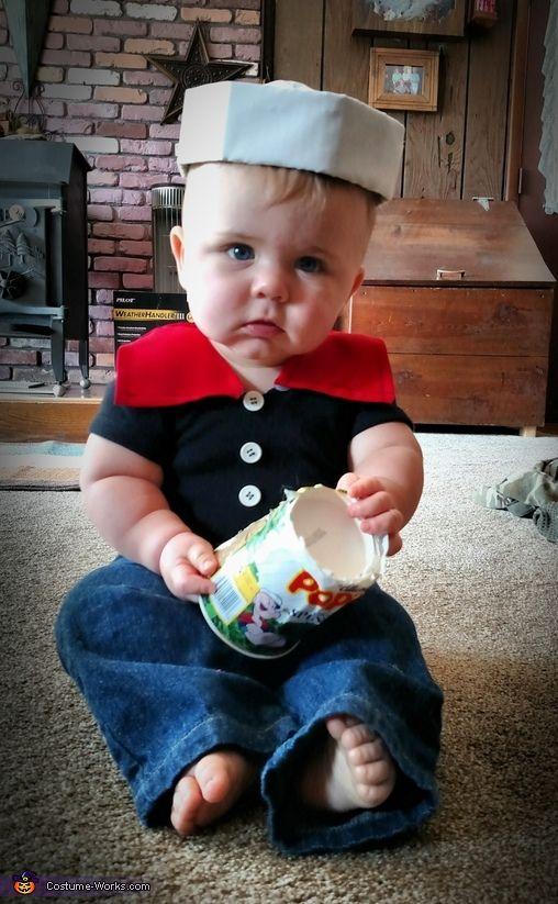 Resultado de imagen para disfraz popeye bebe