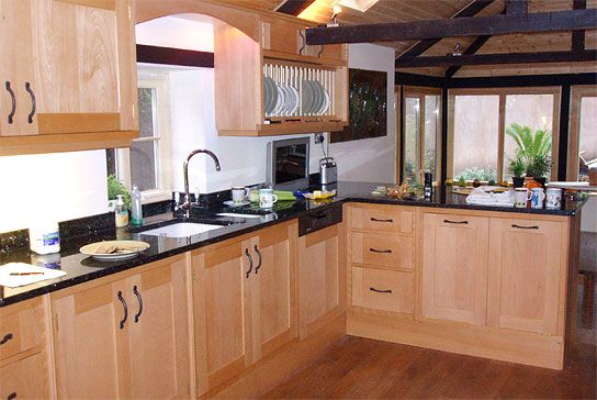 Kitchens Hand Made Beech Kitchens By Country Carpentry Hereford