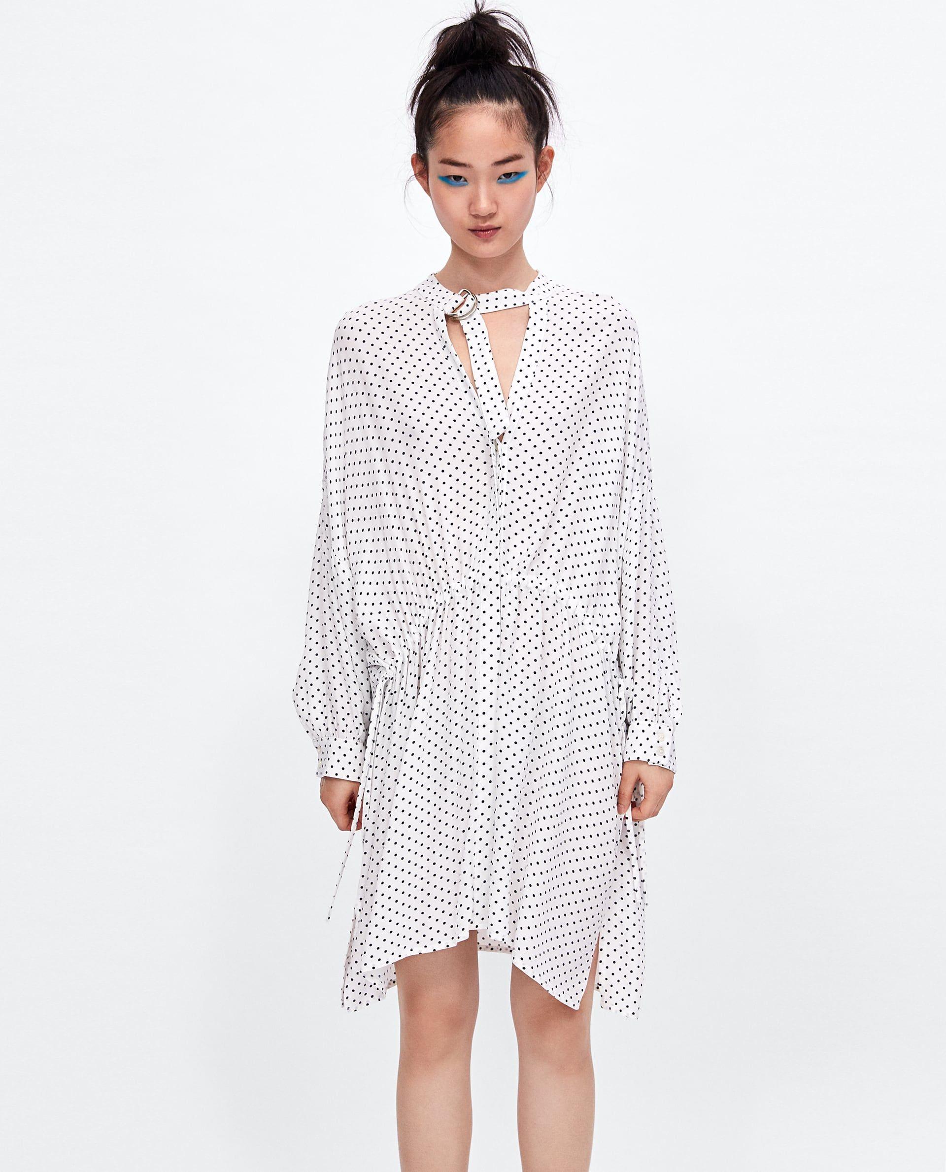 3781953c VESTIDO CAMISERO LUNARES | cheap and chic | Dresses, Shirt Dress ...