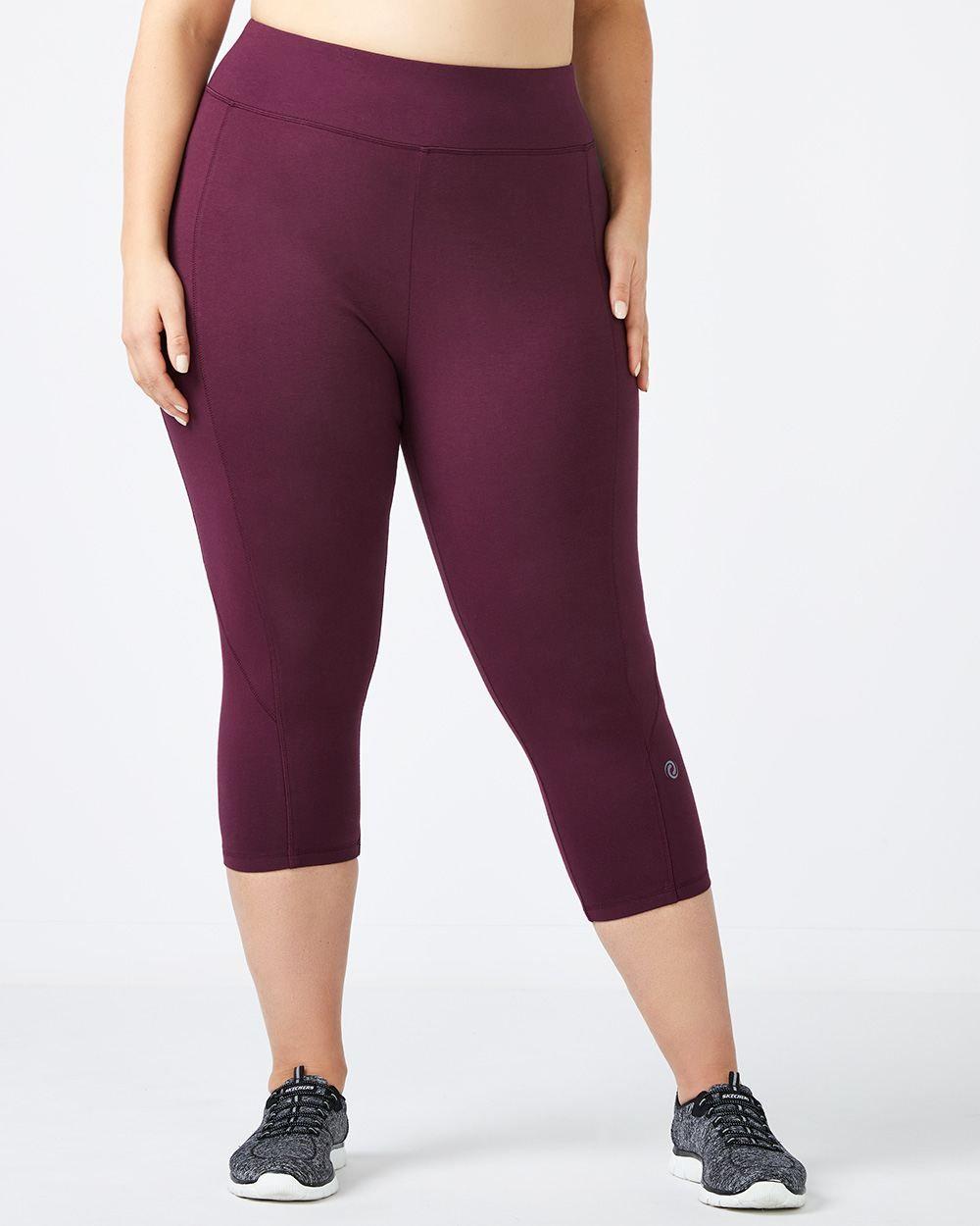 2ed3acf3ecffa Shop online for ONLINE ONLY - Plus-Size Basic Capri Legging - Essentials.  Find Activewear