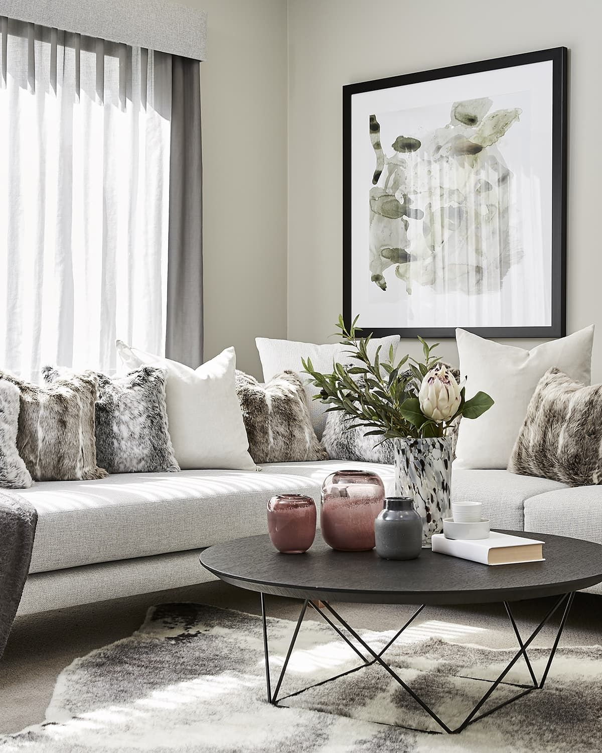 Winter Decorating Ideas For Every Room At Home Tlc Interiors Rugs In Living Room Winter Living Room Living Room Decor Cozy #round #coffee #table #living #room