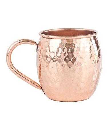Love this The Barrel Hammered Copper Mug on #zulily! #zulilyfinds
