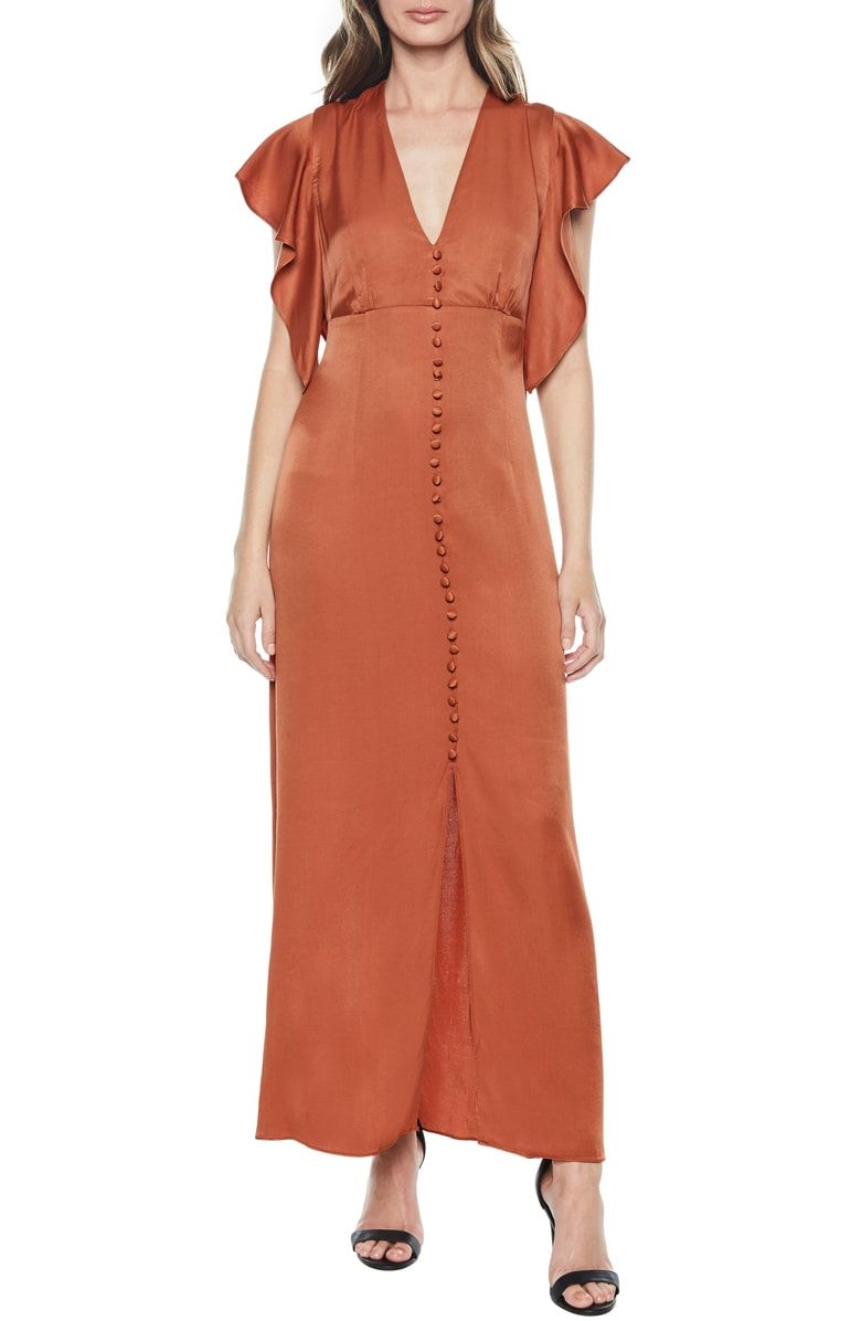113a6390cfbc0 Free shipping and returns on Bardot Button Up Maxi Dress at ...