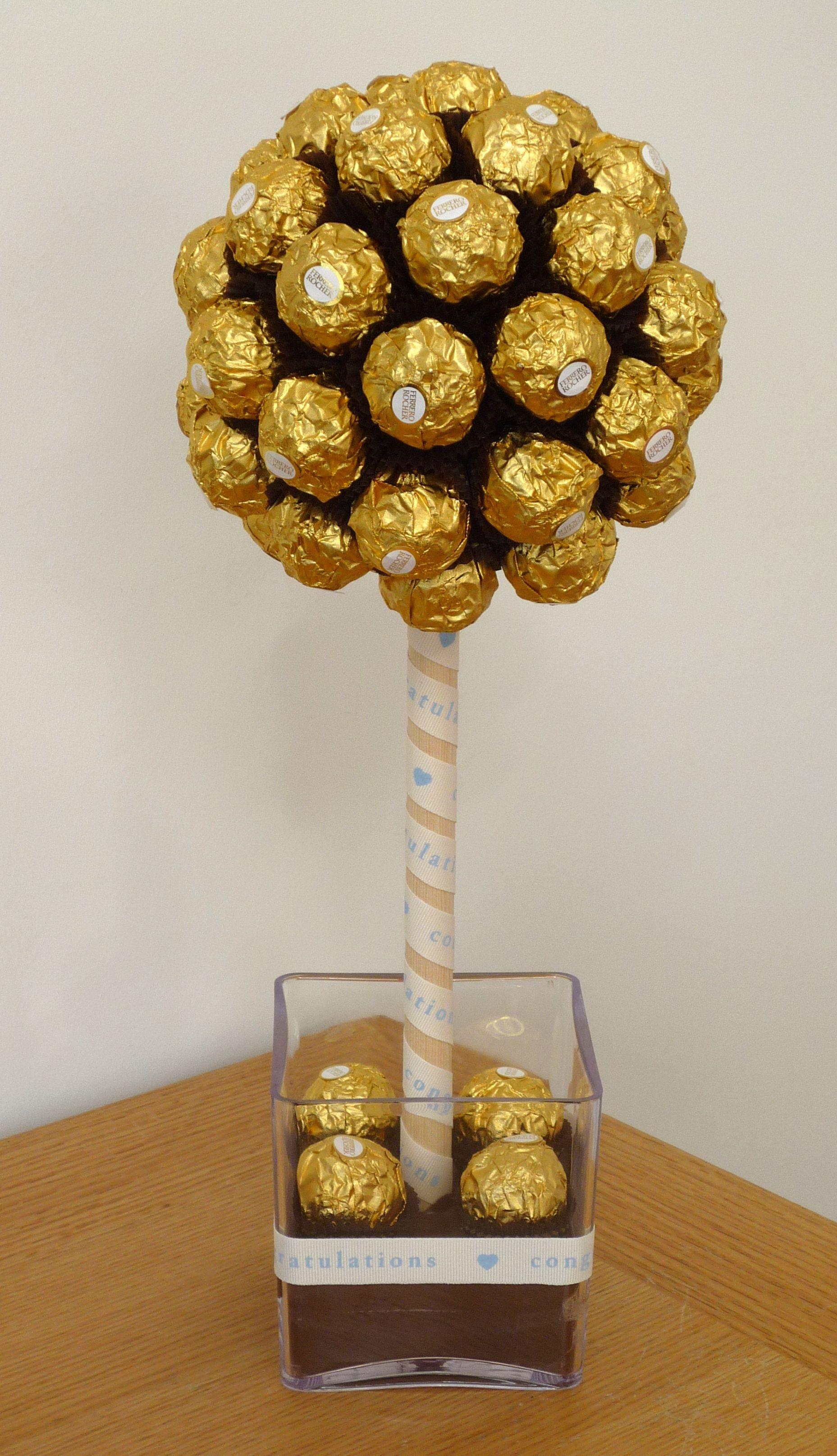 Ferrero Rocher Sweet Candy Tree By Sweetie Pots