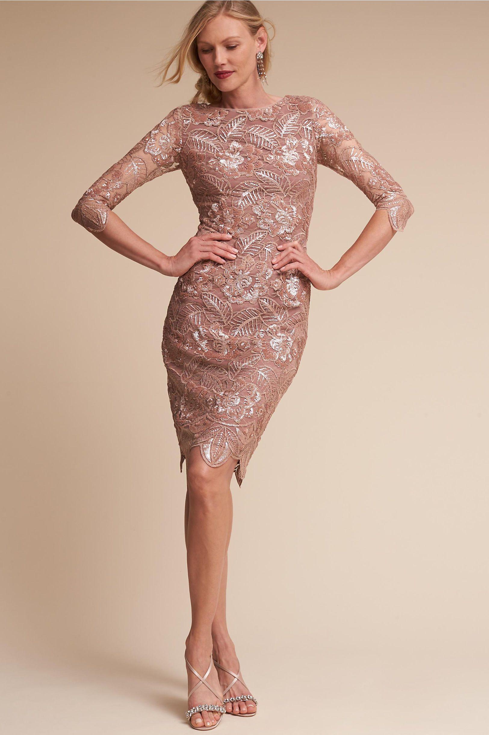e278e48b52 BHLDN s Mackenzie Dress in Rose Gold