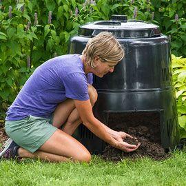 The Earth Machine™ Composter Organic Gardening Organic 640 x 480