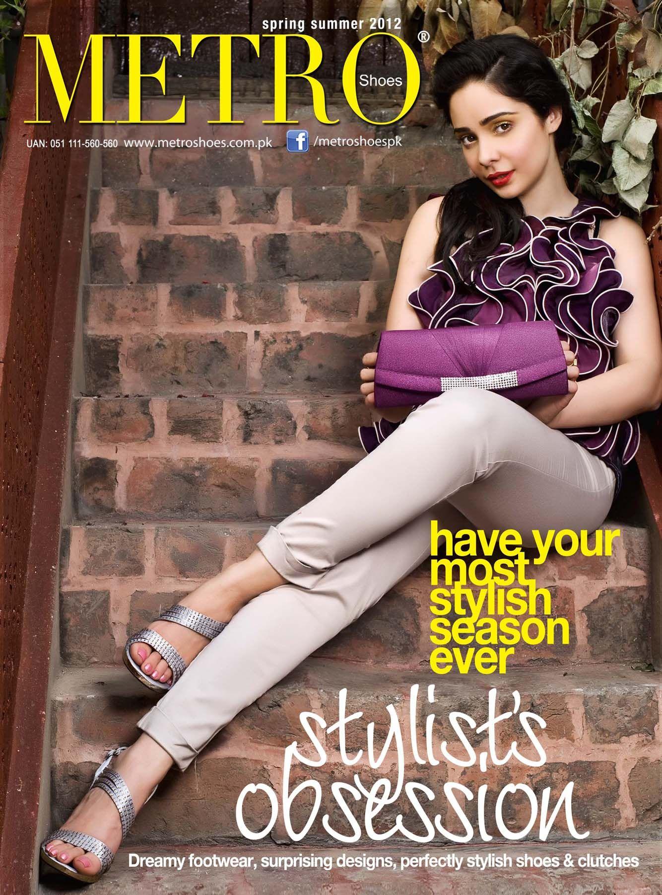www.metroshoes.com.pk. Stylists obsession. Juggan Kazim presenting Metroshoes stylish footwear, clutches, handbags, Bengals, and a lot more.
