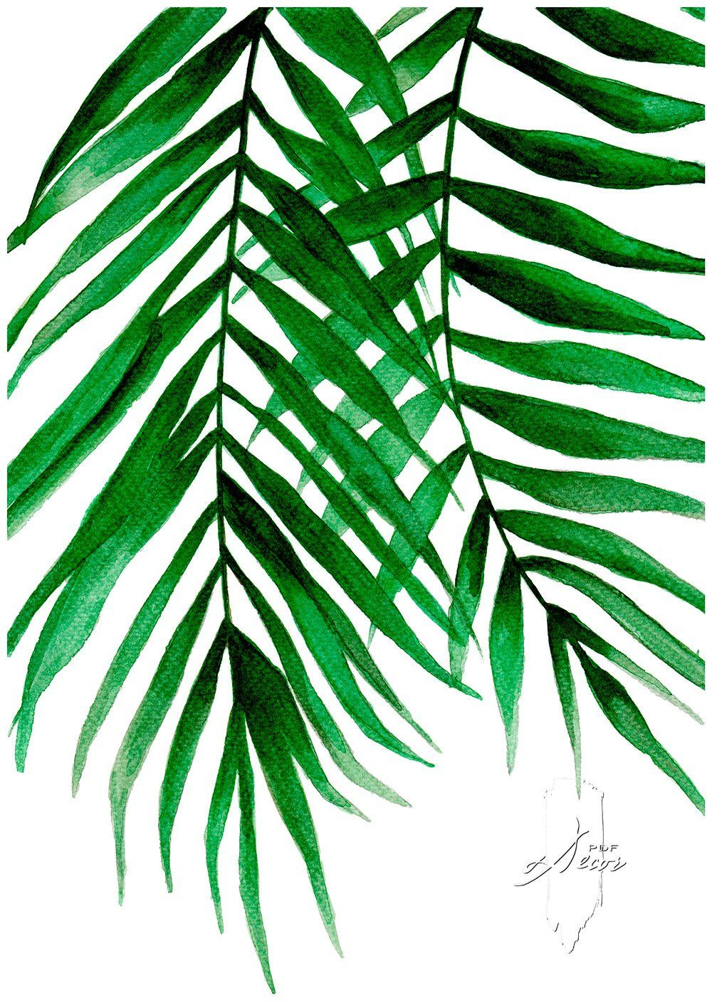 Tropical Leaves Set Set Of 3 Leaves Prints Set Of 3 Wall Art Tropical Print Watercolor Leaves Leaves Print Wall Art Art Prints Art Watercolor Leaves Tropical Leaves Tropical Print