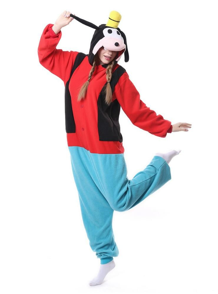 c61233b10d Women Goofy Dog Onesie Pajama Animal Sleepwear – Lilacoo