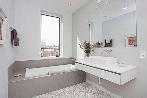 Kleine badkamer met Marokkaanse vloer | Badkamers-inspiratie ...