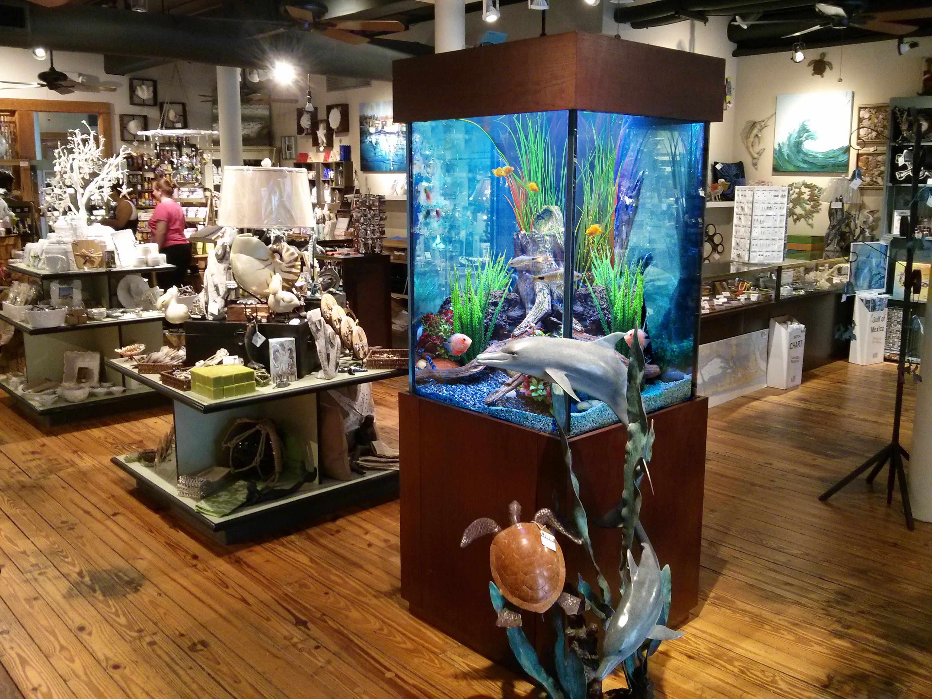 Fish aquarium business - Custom Aquarium At The Admiralty In Galveston Tx By The Fish Gallery