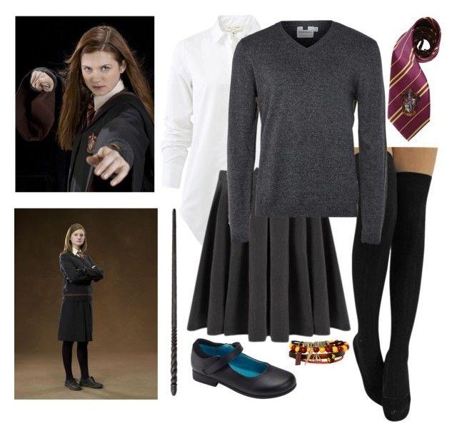 Ginny Weasley, school uniform