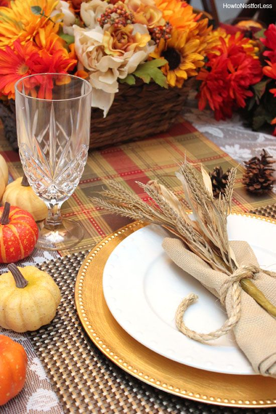 Thanksgiving Table Setting Ideas - Thanksgiving Place Settings | Thanksgiving table settings Thanksgiving table and Table settings : table place settings ideas - pezcame.com