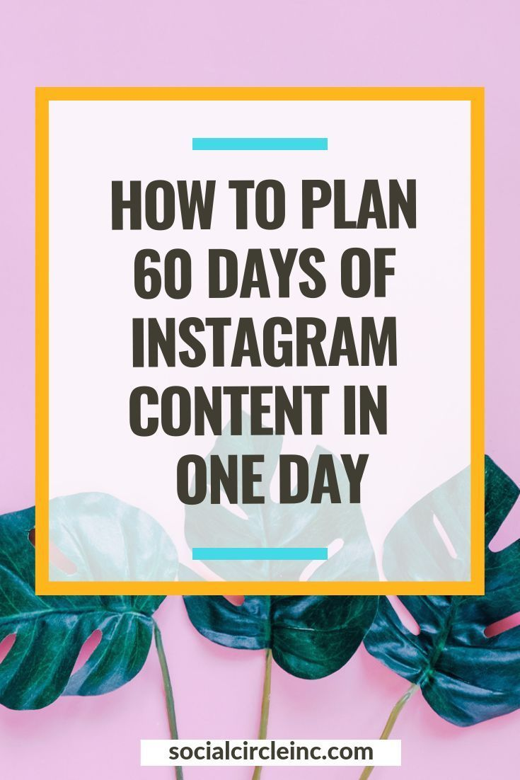 My Foolproof Process for Planning Instagram Content in Advance is part of My Foolproof Process For Planning Instagram Content In Advance - Planning my Instagram content 60days in advance has allowed me to maintain a strong social media presence during times I'm feeling overtaxed or busy