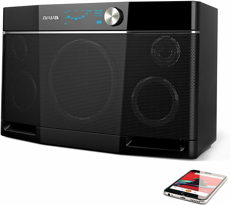 Aiwa Exos 9 Portable Bluetooth Speaker By Aiwa