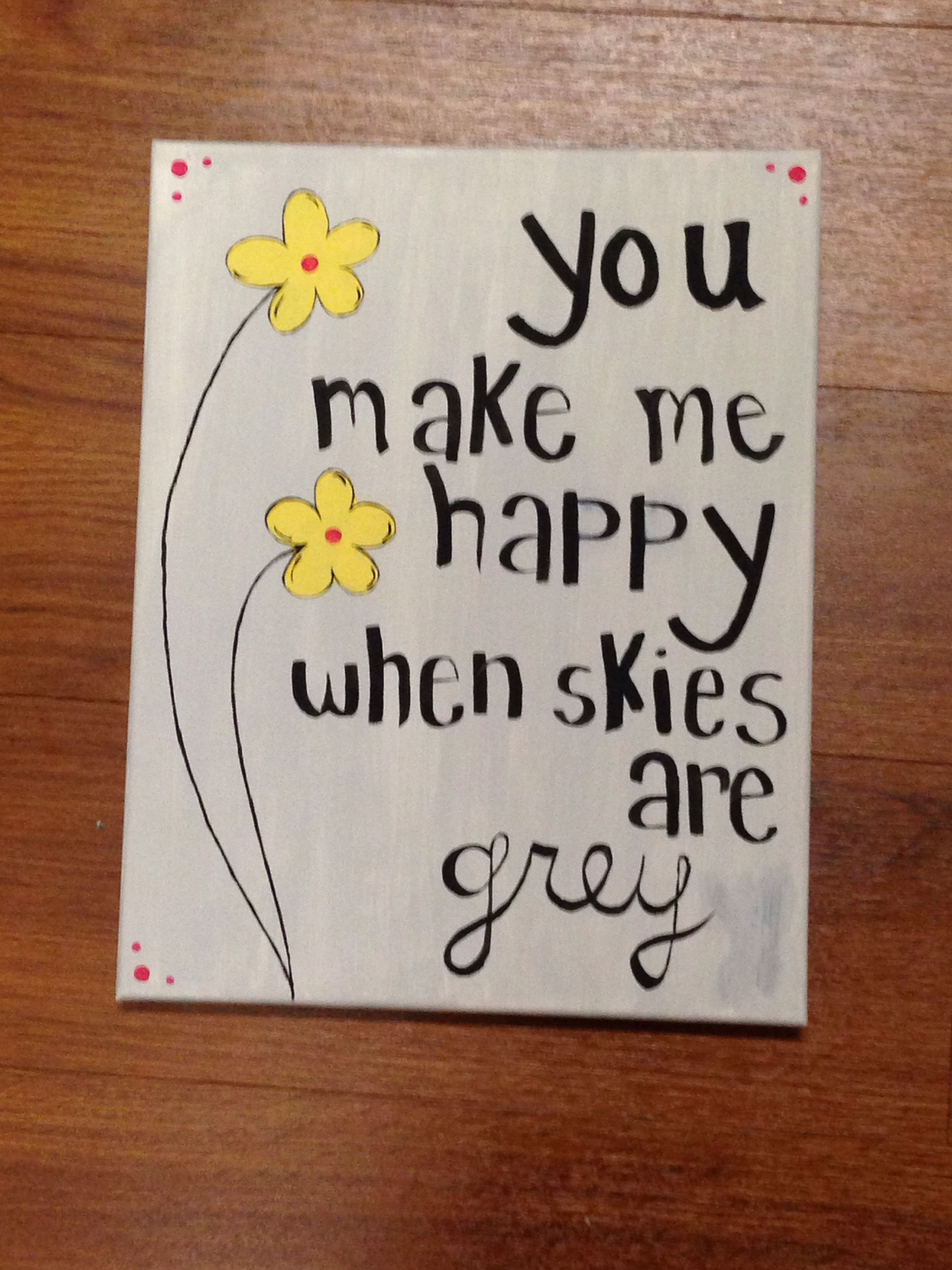 Cute Canvas Idea Easy Canvas Painting Diy Canvas Art Canvas Painting Quotes