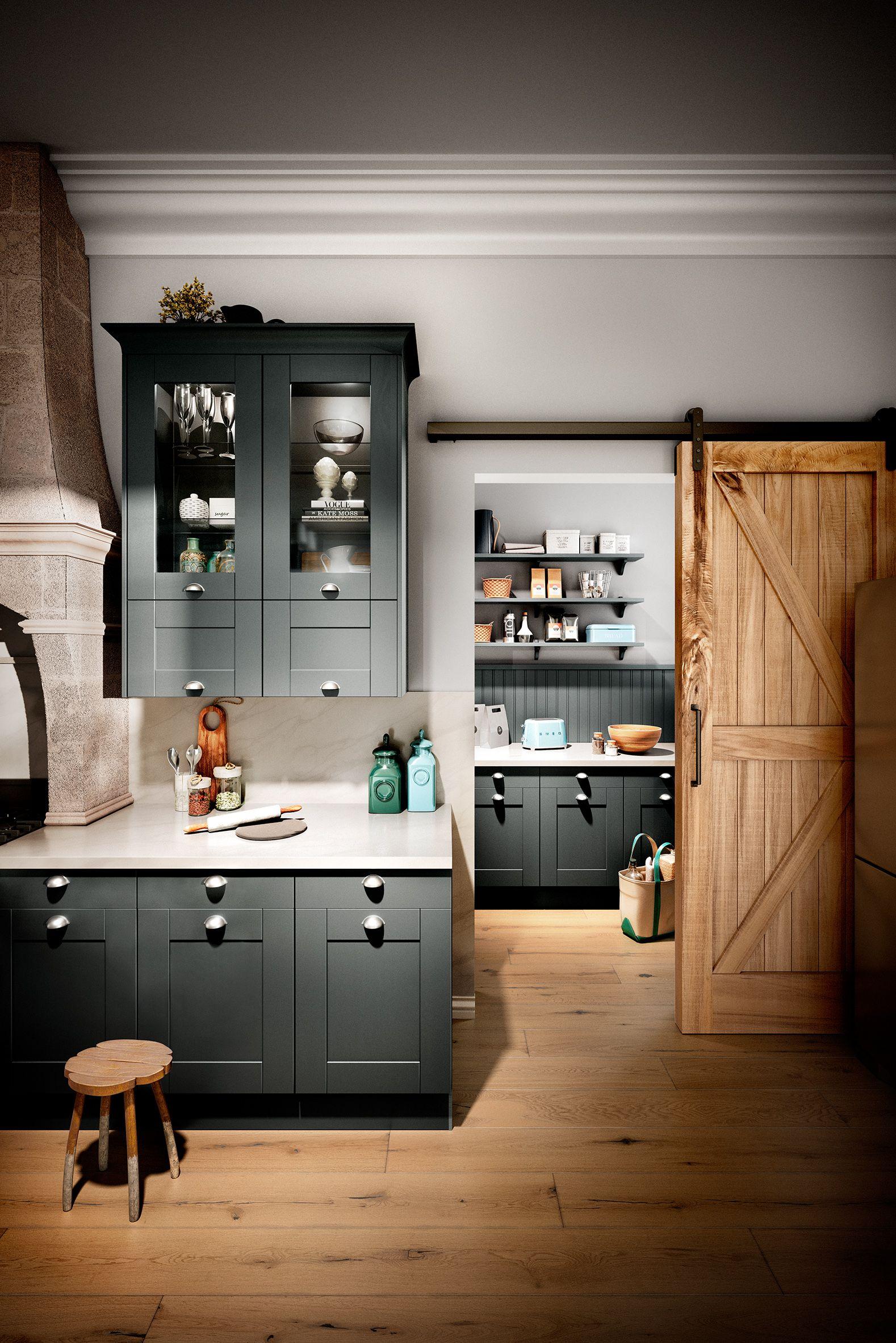 Oxford Graphit häckerküchen häcker küchen landhaus