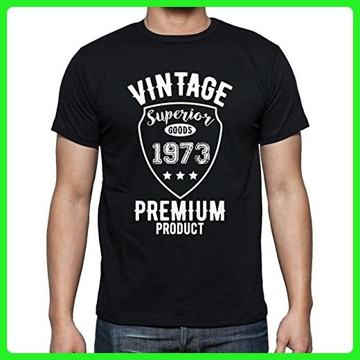 1973 Vintage superior, mens tshirts, tshirt men birthday, gift tshirts - Birthday shirts (*Amazon Partner-Link)