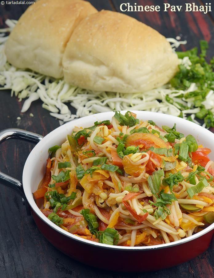 Chinese pav bhaji recipe pav bhaji indian street food and indian breads chinese pav bhaji forumfinder Images