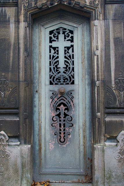 Tomb Door  Pere Lachaise Cemetery Paris & Tomb Door 6 Pere Lachaise Cemetery | Pere lachaise cemetery ...