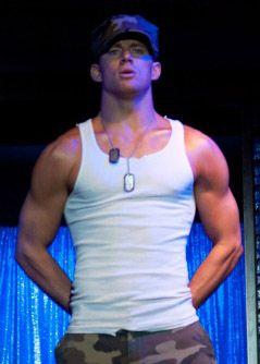Channing Tatum Magic Mike | 1st 'Magic Mike' Movie Still: Needs More Bomer