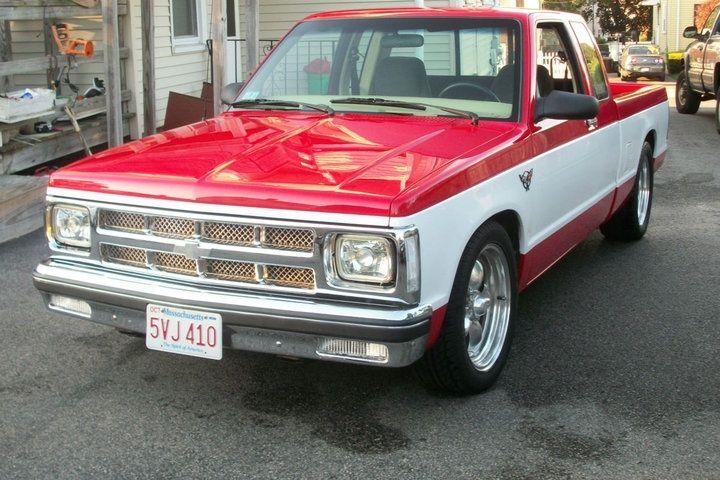 83 S10 Pickup 350 V8 S10 Pickup Chevy S10 S10 Truck