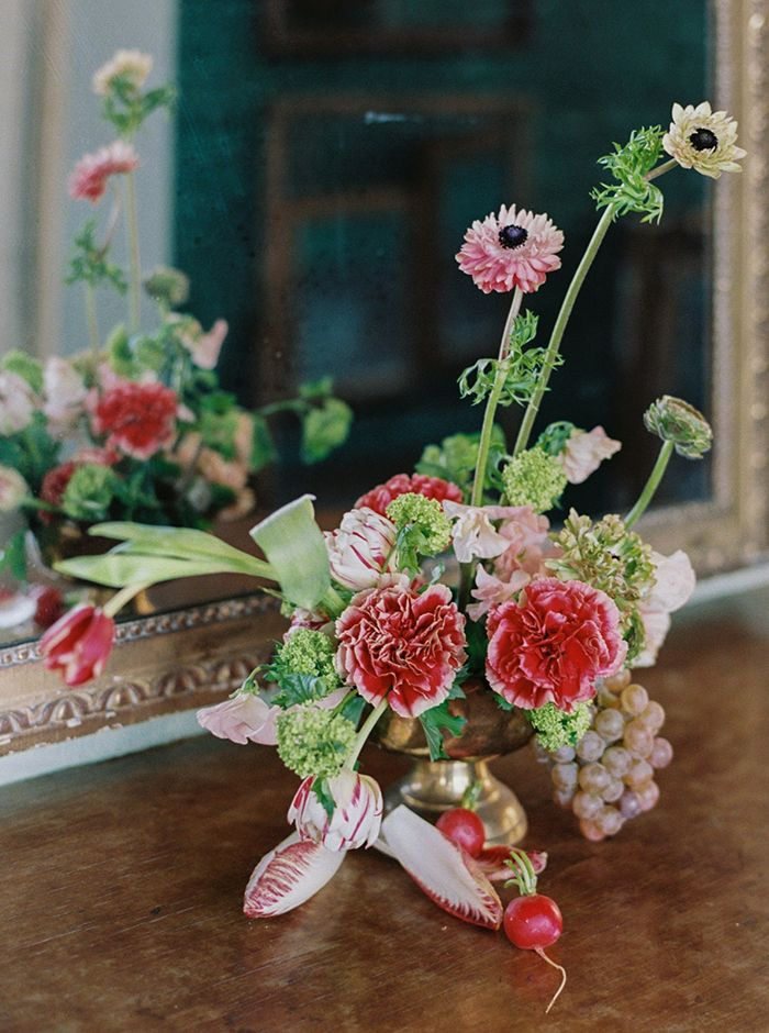 Colorful Wedding Flowers Inspired By The Dutch Masters Colorful