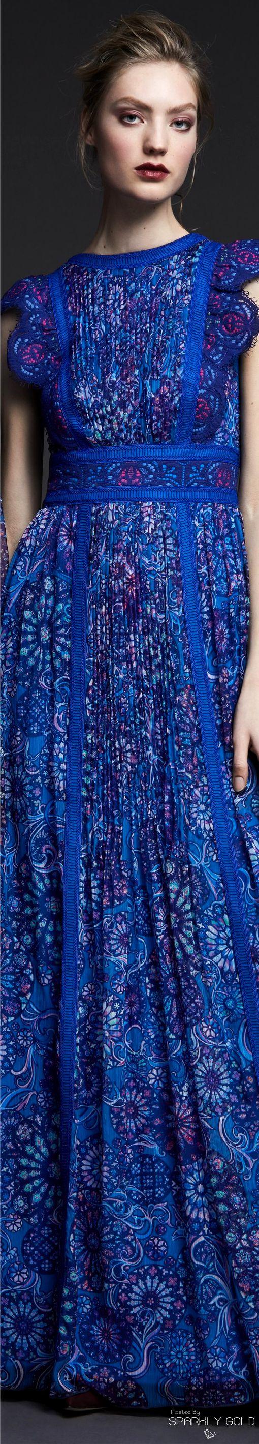 Tadashi Shoji Pre Fall 2017 Blue Dressespretty