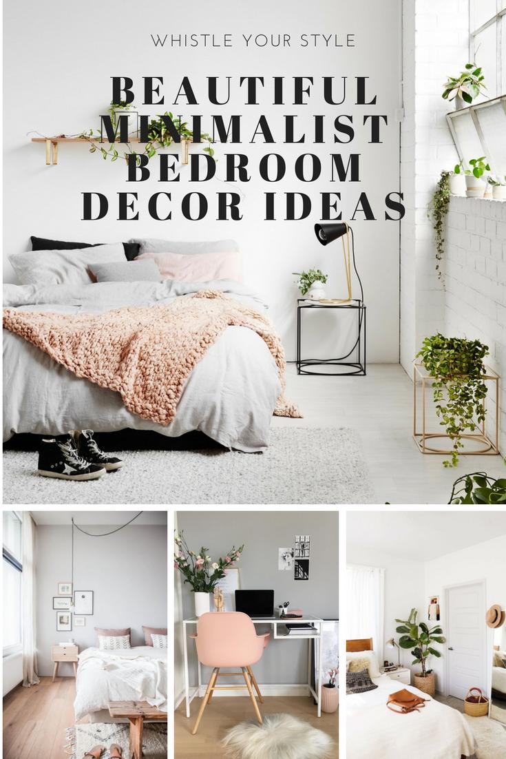 Beautiful minimalist bedroom decor ideas | Home Decor Inspiration ...