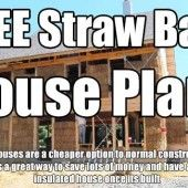Lots Of FREE Straw Bale House Plans