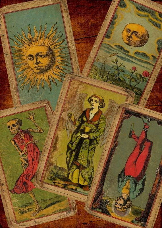 The Deck Of The Bastard - The Most Unique Vintage (looking) Tarot