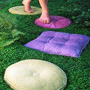 Lovely Add Some Whimsy With Concrete Pillow Stepping Stones