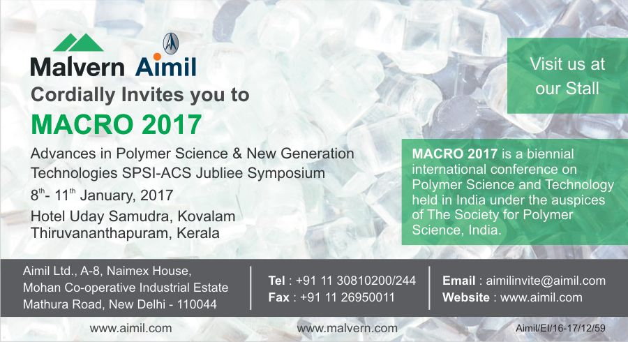 Macro 2017 Advances In Polymer Science New Generation