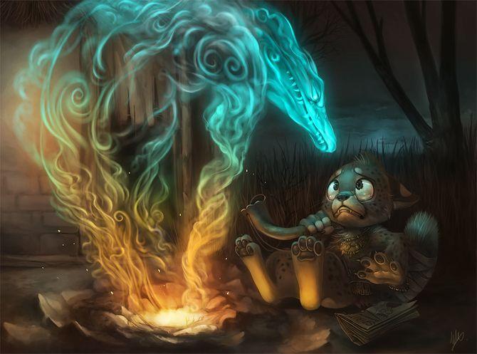 drac de llum