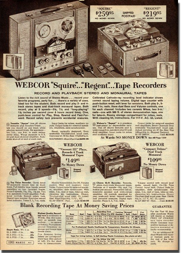 Phantom Productions Reel To Reel Tape Recorder 1908 Ad Collection Tape Recorder Neat Gadgets Hifi