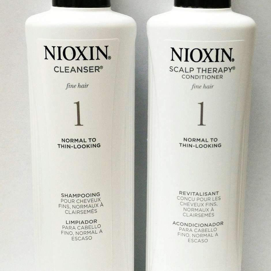 Nioxin System 1 Cleanser and Scalp Therapy Duo 10.1oz