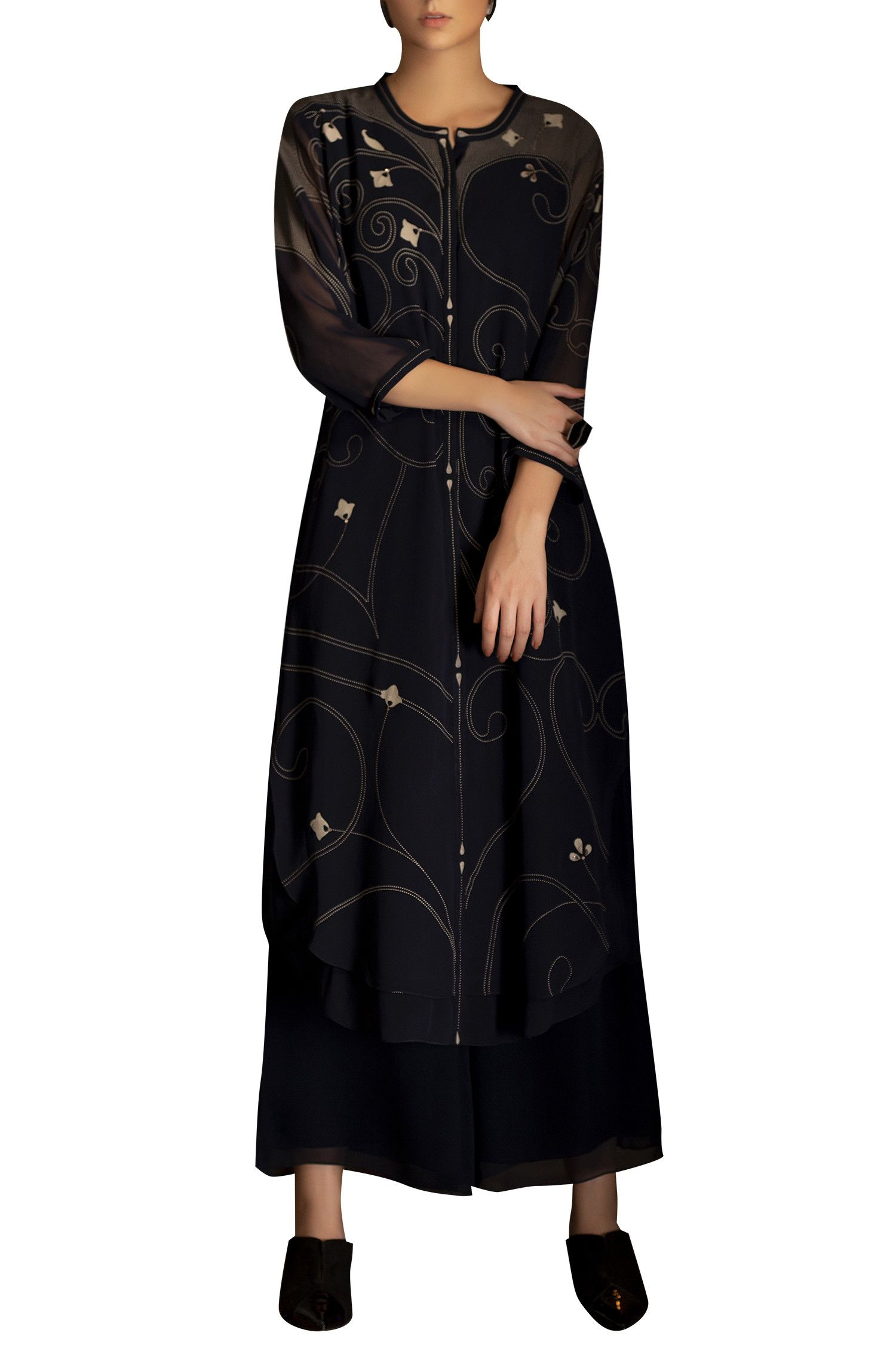 e2909d1736cd7 Buy Embellished   screen printed tunic by AM PM at Aza Fashions