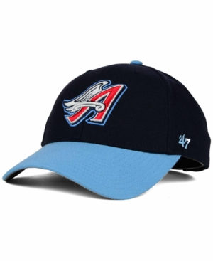 huge selection of d367d ab710  47 Brand Los Angeles Angels of Anaheim Mvp Curved Cap - Blue Adjustable.