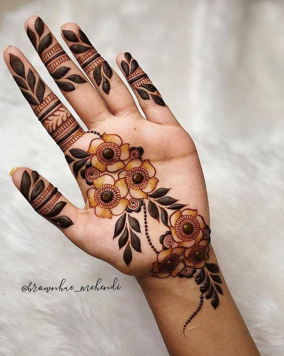 30 Stylish And Elegant Finger Mehndi Designs In 2020 Mehndi Designs Back Hand Mehndi Designs Unique Mehndi Designs