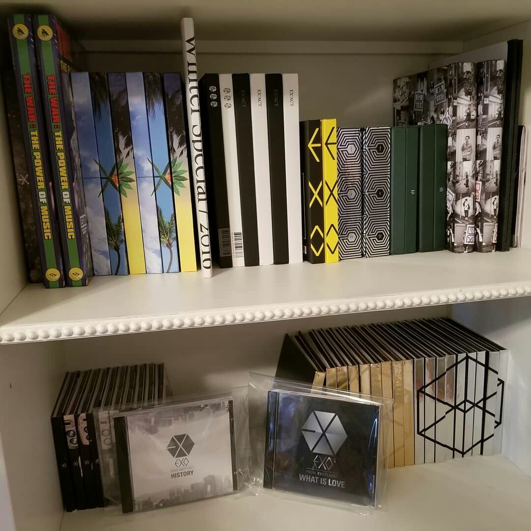Pin oleh Aleinad Hdz di Albums Kpop Exo dan Dekorasi kamar