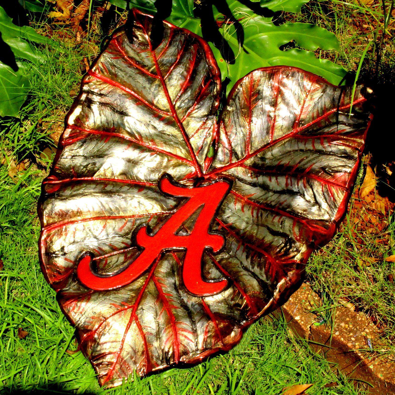 Alabama Crimson Tide Elephant Ear Leaf