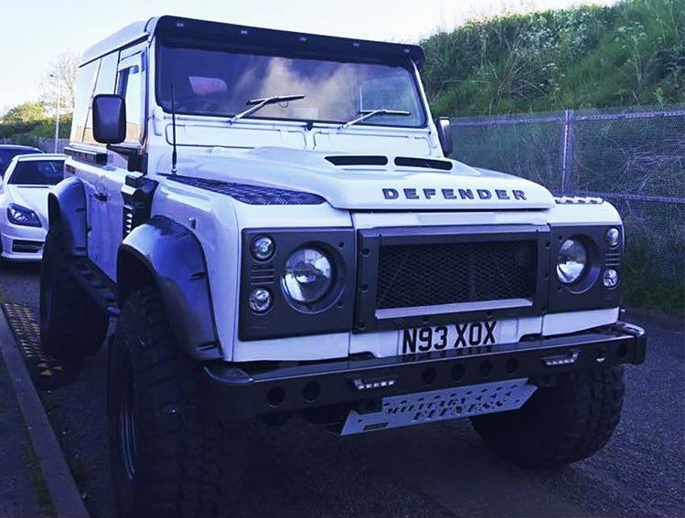 Custom Kitted Land Rover Defender 90 With Grp4x4 New Vented