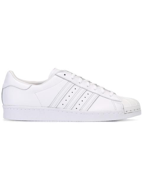 ADIDAS ORIGINALS 'Superstar 80's Metal Toe' sneakers. #adidasoriginals #shoes #sneakers